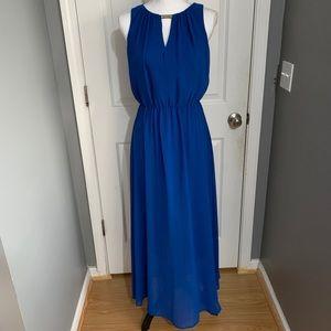 Vince Camuto blue maxi dress size 6